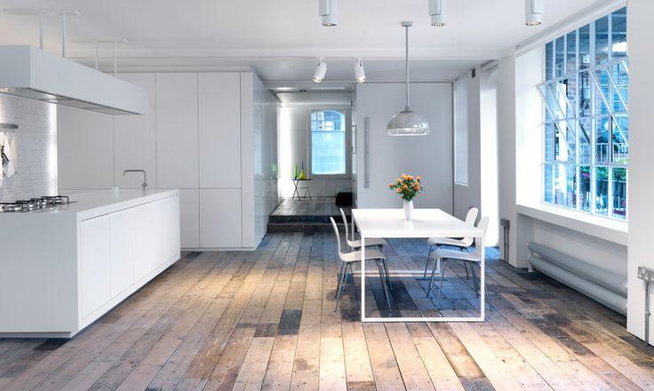 Un apartamento abierto y luminoso en Londres