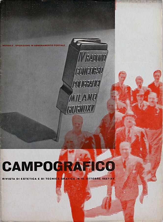 Campo Grafico - Nº.10 -Carlo Dradi & Attilio Rossi, October 1937