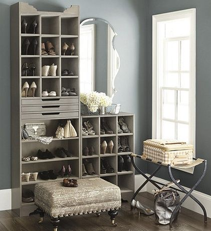 Clutter Control  Closet Storage and Shoe Storage