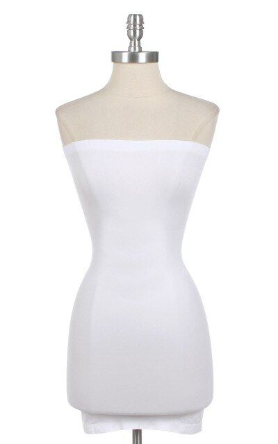 Women summer dress party club plus size bodycon white sleeveless mini strapless casual short slim dresses