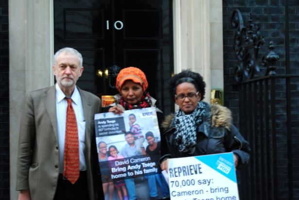 70,000 people stand up for Andy Tsege on his 60th birthday. Come on, Cameron, you useless twat, get your arse into gear and do something about this.