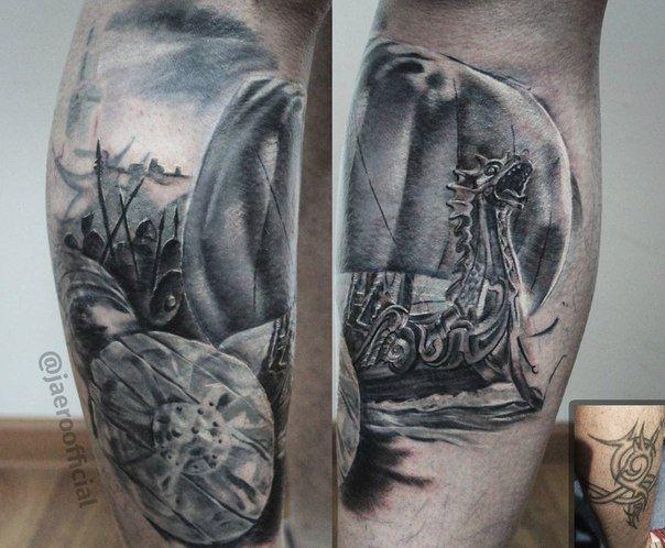 #tattoo #tattooart #inprogress #ink #inkstagram #inked #inkedup #eternalink #cheyenne #Rtats #jaer_X #тату #татуировка