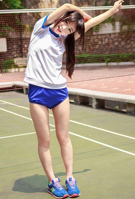 Japanese student gymnastics school uniforms Free shipping - Thumbnail 1