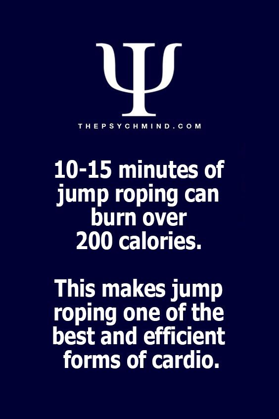 One must be the rope, to be the rope jumper.