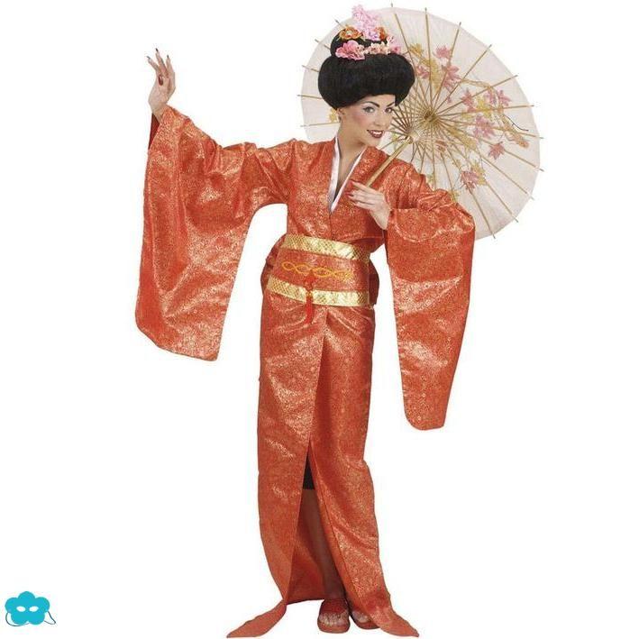Disfraz de Geisha tradicional talla grande para mujer