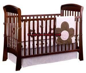 Box Bayi Minimalis Model Keranjang | Jati | Harga | Produk Furniture Terbaru | Wijaya Jati Mebel