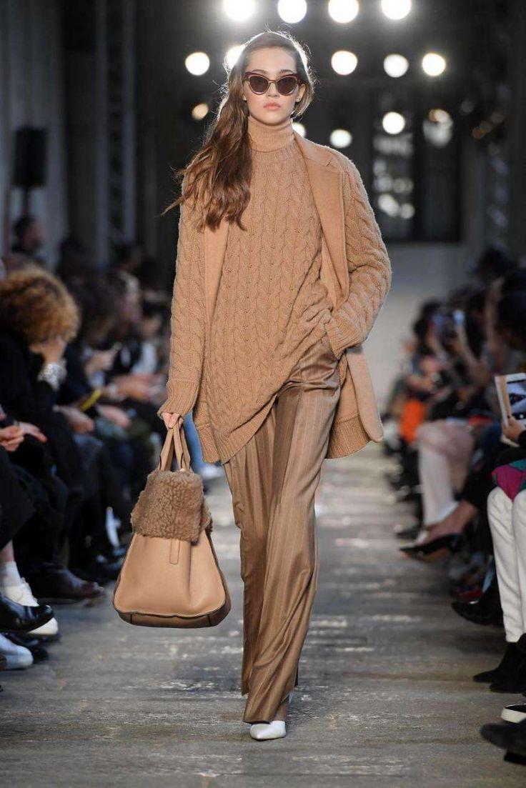 Milano Moda Donna: tendenze Autunno Inverno 2017-2018 - Look cammello Max Mara