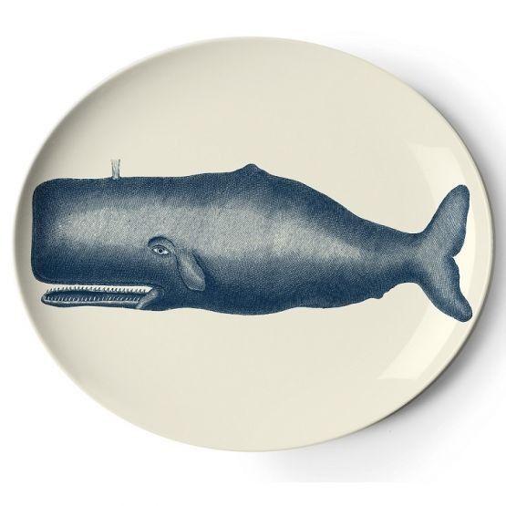 Thomas Scrimshaw Whale Plate