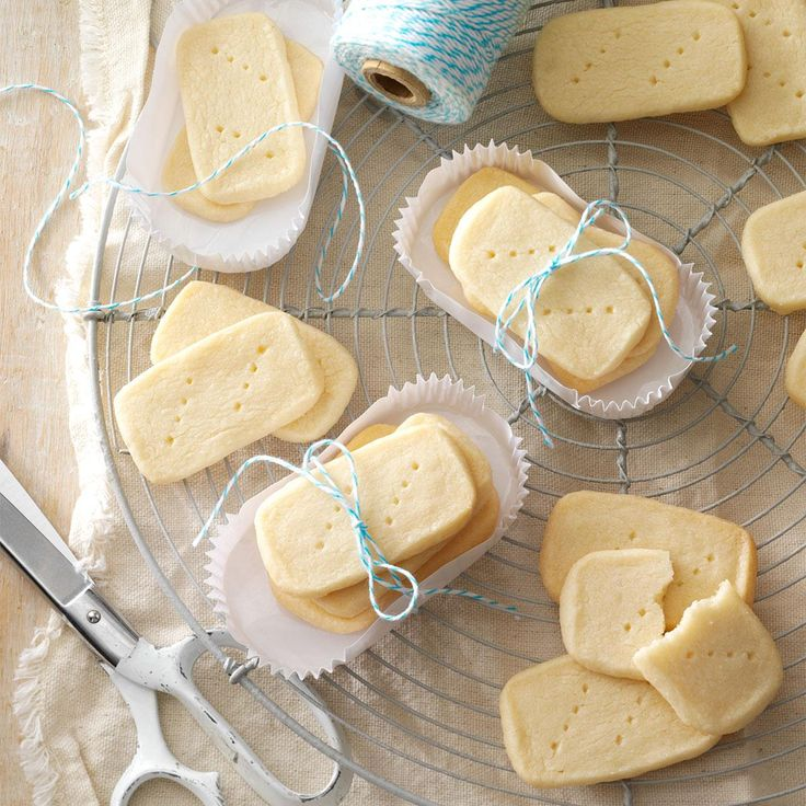 "Shortbread Recipe -I live in Missouri, but many family recipes come from New Zealand where I was born. My parents moved there when I was a year old, so I have a ""Down Under"" heritage. These special-occasion cookies bring back warm memories of my childhood, and I'm going to make sure they're passed on to the next generation in my family…no matter where they live! —Mrs. Allen Swenson, Camdenton, Missouri"