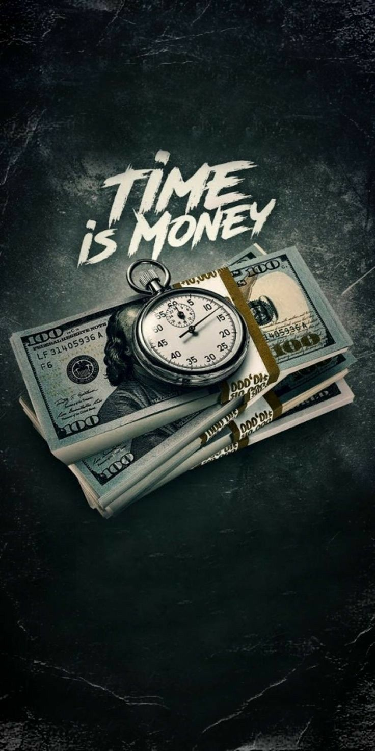 Time Is Money Money Wallpaper Iphone Money Tattoo Cool Wallpapers For Phones