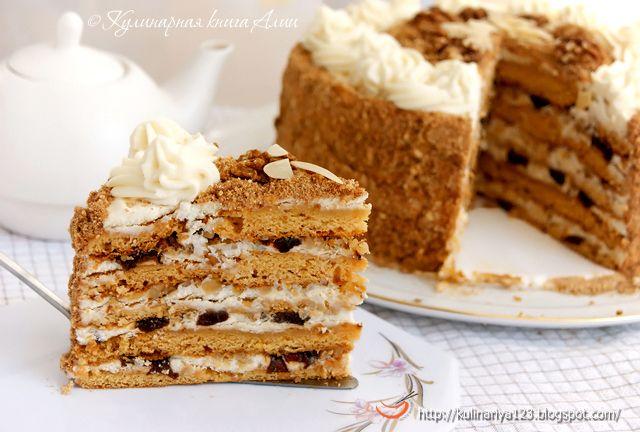 """Медовый торт """"Особенный"""