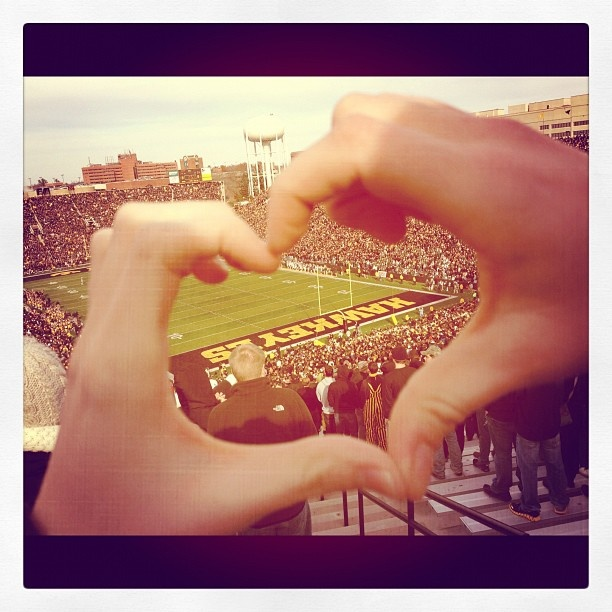Kinnick Stadium - Iowa Hawkeyes Already been here but wanna go back! Always a hawkeye at heart :)