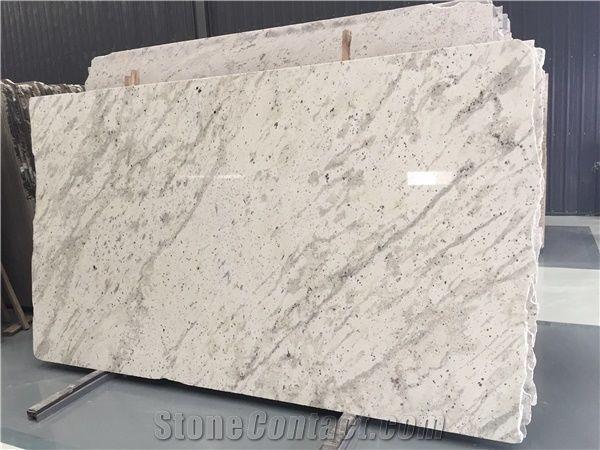 Andromeda Granite Sri Lanka White Granite Slab Tile From China Stonecontact Com White Granite Granite Slab White Granite Slabs