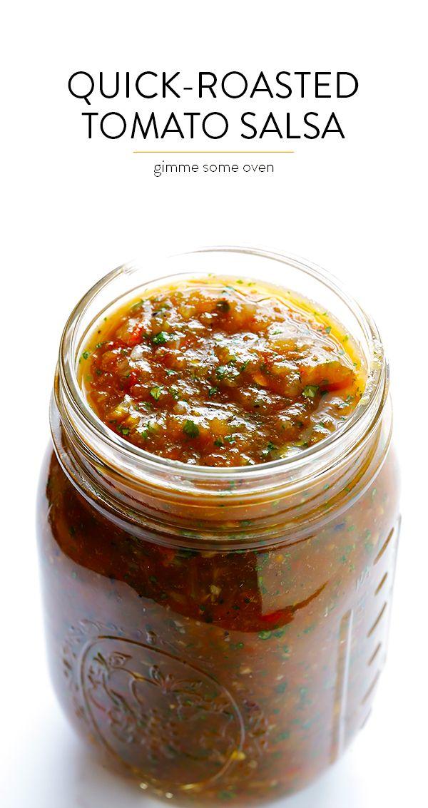 25+ bästa Roasted tomato salsa idéerna på Pinterest