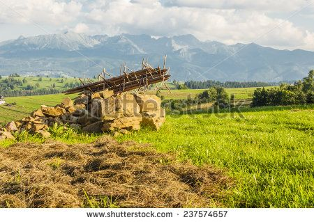 Landfill hay pole (stand)