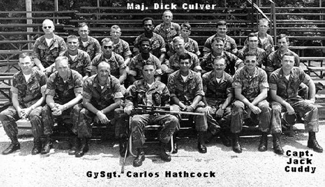 a biography of carlos hathcock a marine sniper History branch and ev englander of the marine corps historical center library  gunnery sergeant carlos hathcock is one of those rare individuals who has.