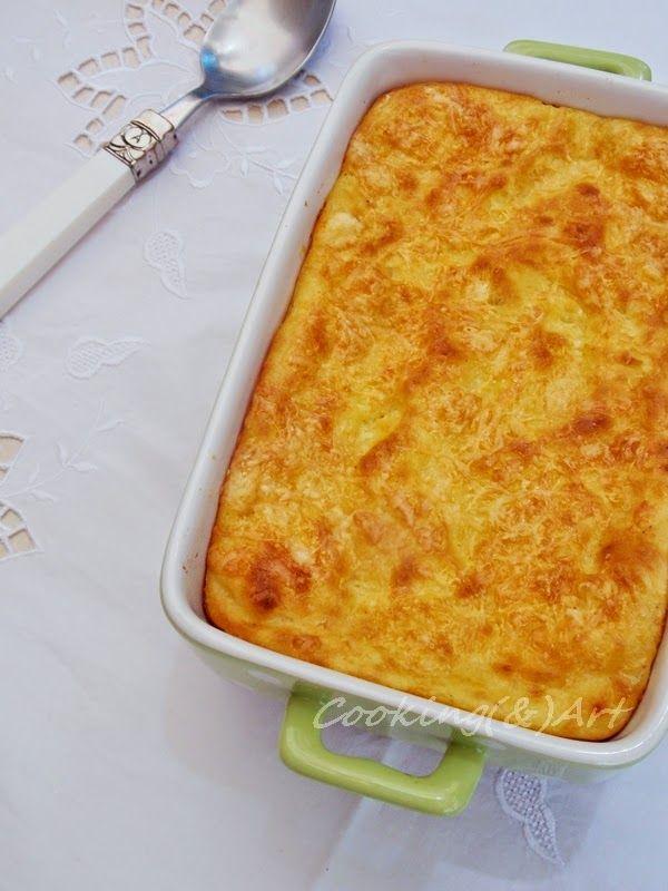 Πατάτες με τυριά στο φούρνο / Cheesy potatoes - Cooking & Art by Marion