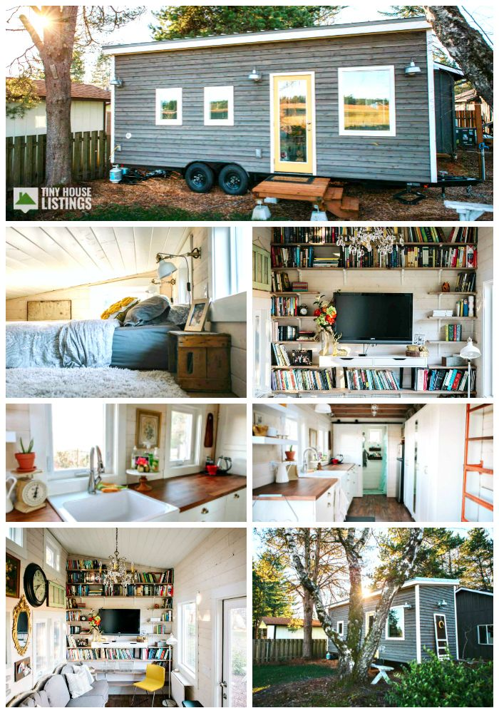 Beautiful Tiny Home Portland Or House For In Boring Oregon Houses Pinterest Wood Shelf Scandinavian Style And