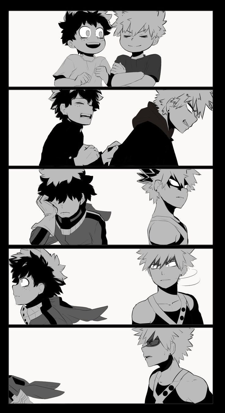 When Izuku finally decided that he didn't need you anymore.You see ...