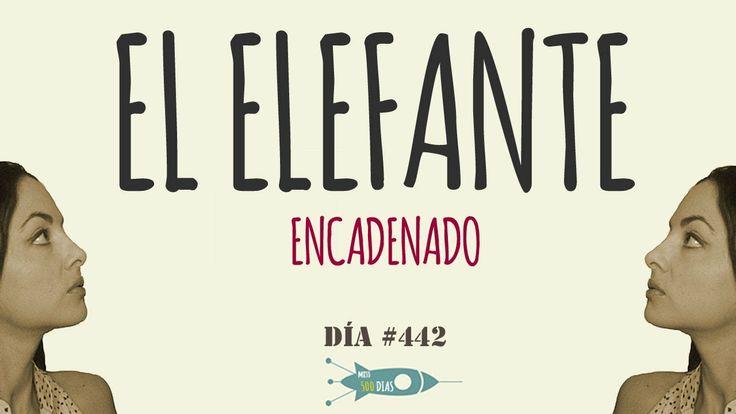 Madrid, Sábado 10 de Mayo 2014. Día 442. La parábola de elefante encadenado, por Jorge Bucay.  http://miss500dias.com/2014/05/11/el-elefante-encadenado/ 