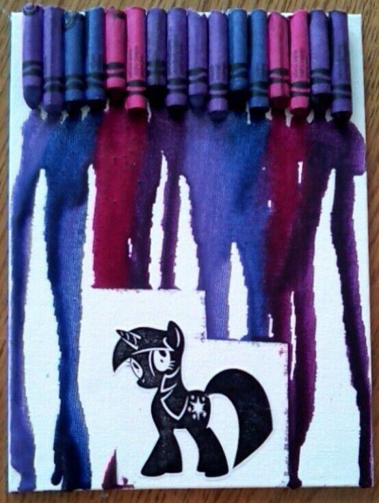 Twilight crayon art