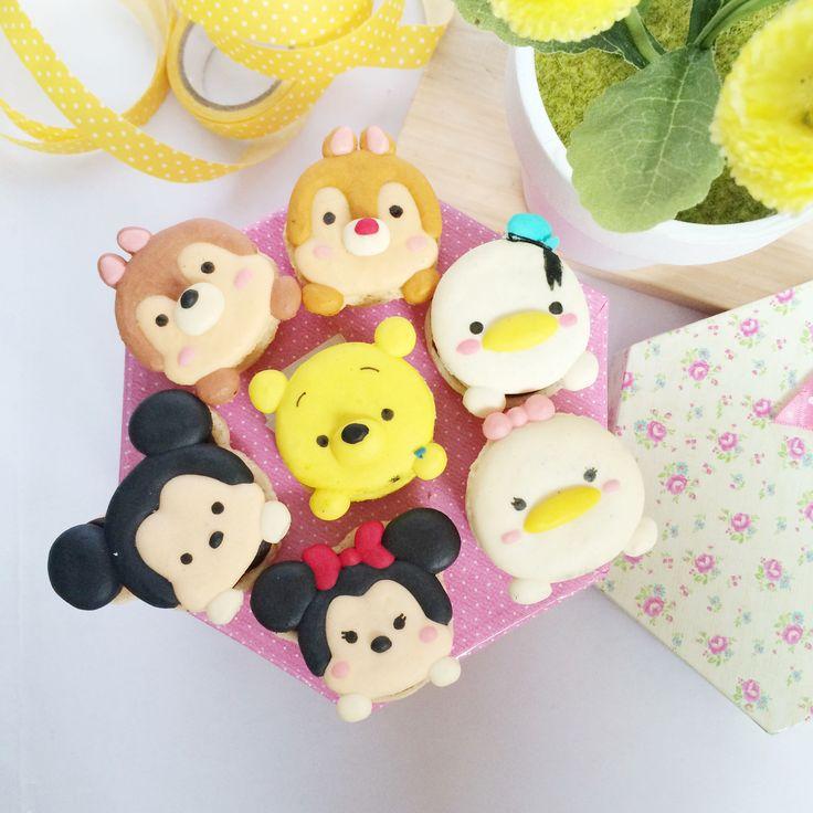 Disney tsum tsum macaroon