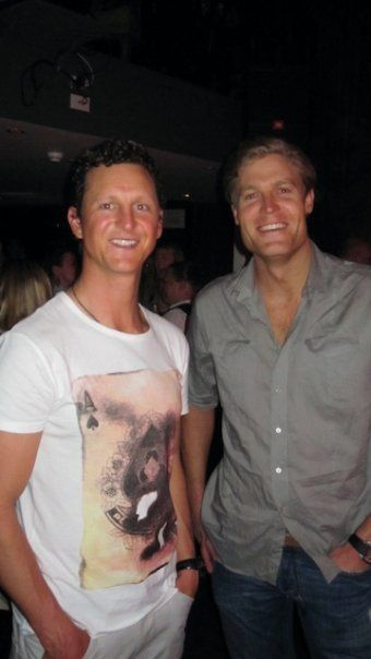 Deano and Chris Brown (Bondi Vet)