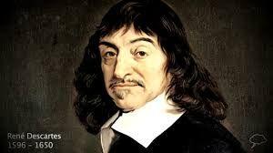 Descartes is geboren in La Haye en Touraine(1596). Hij was niet van adel maar zijn ouders hoorden wel bij de bourgeoisie. Hij was een belangrijke Franse filosoof. zijn standpunt was Cogito Ergo Sum, ik denk dus ik ben. Hij zegt dat wetenschap begint bij twijfel. La Haye en Touraine heet nu Descartes. Descartes overleed in Stockholm(1650).