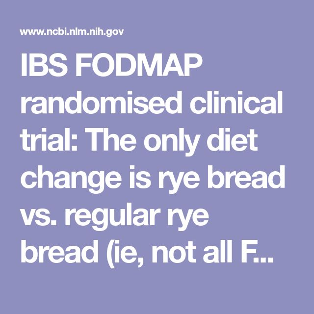 2016 IBS FODMAP randomised clinical trial: The only diet change is rye bread vs. regular rye bread (ie, not all FODMAPS were eliminated). This did not impr IBS symptoms overall. Some symp and hydrogen breath test decr, but need broader FODMAP elim beyond the major players.