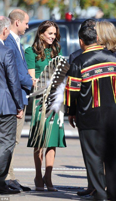 Catherine, Duchess of Cambridge and Prince William, Duke of Cambridge visit the University of British Columbia on September 27, 2016 in Kelowna, Canada.