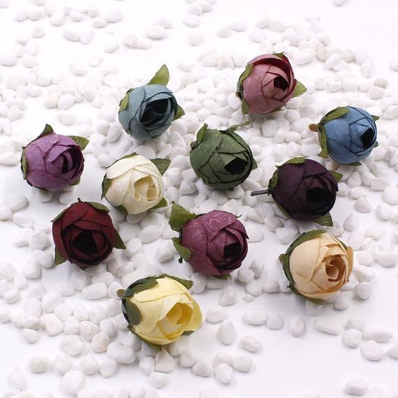 Artificial Flowers Fake Plant Bouquet Home Wedding Party Garden Decoration F