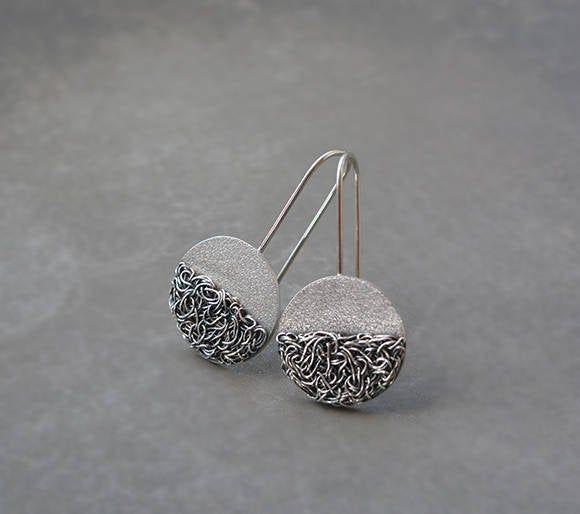 925 Sterling Silver Heart Drop Earrings Fashion Love Earrings Cylindrical Long Earrings Heart-shaped Silver Jewelry jewelry For Women