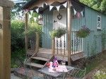 Teifi Meadows Hut | Tiny House Vacations Sleeps 2 - indoor and outdoor kitchen... $21 a night