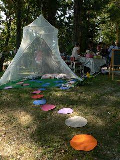 Mani in Gioco: settembre 2012 la tenda del gioco del telaio