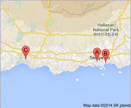3 Famous Waterfalls to Visit at Seogwipo Area on Jeju Island: Jeongbang Falls, Cheonjeyeon Falls, Cheonjiyeon Falls – Singapore Travel Blog