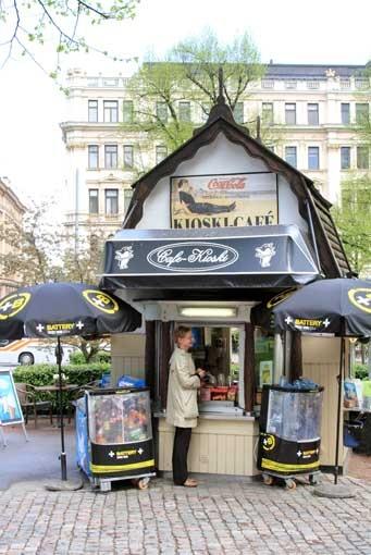 cute kiosk