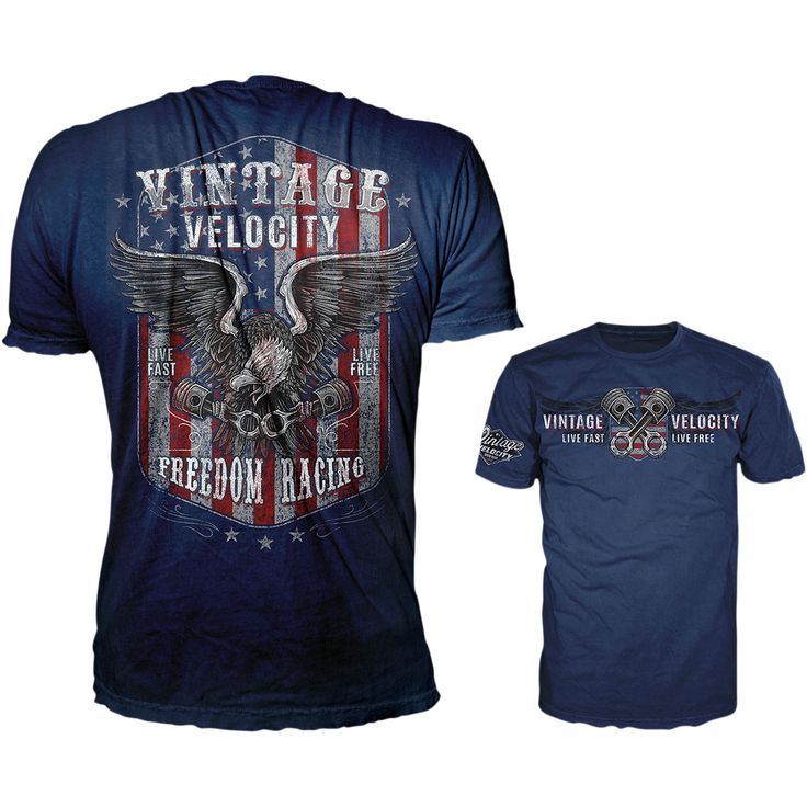 Lethal Threat Freedom Racing USA Men's T-shirt