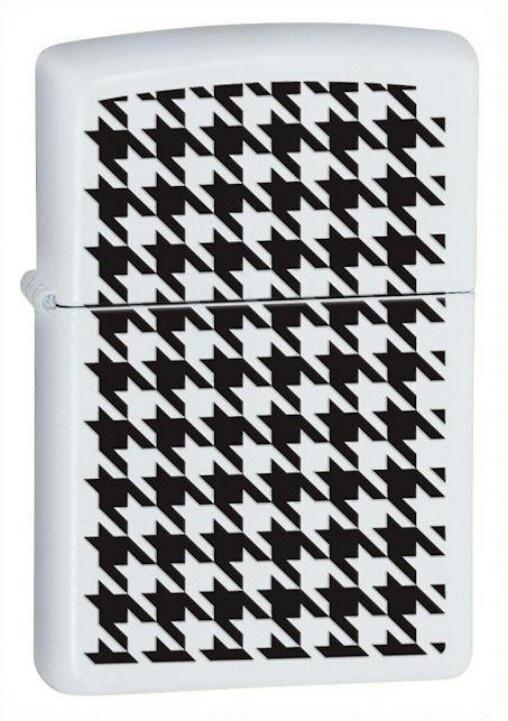 Zippo lighter white matte