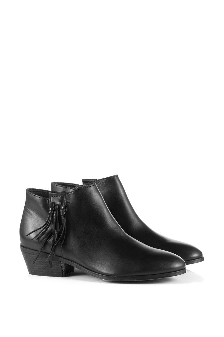 Esprit : Stivaletti alla caviglia in pelle nel nostro shop on-line