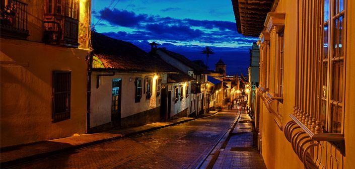 Love this photo of Bogota