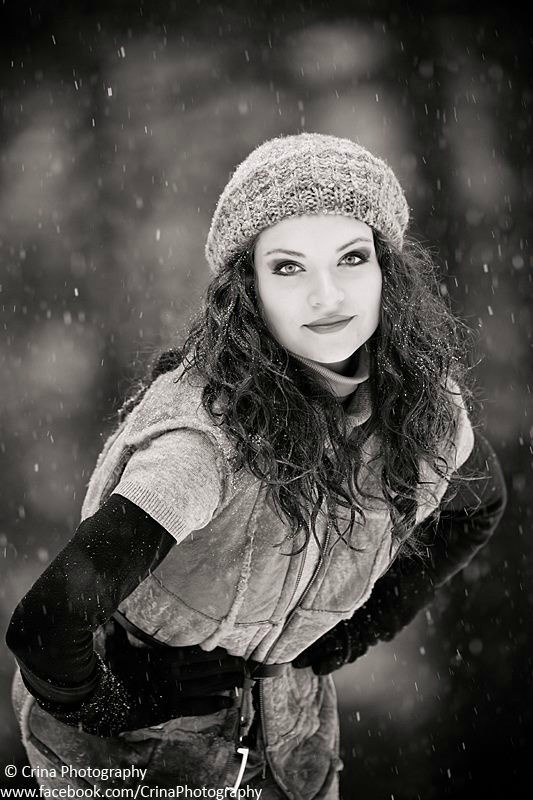 Black & White snow