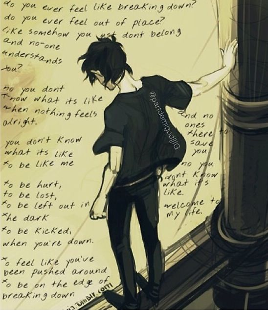 Nico Di Angelo. I do feel like this, a lot.