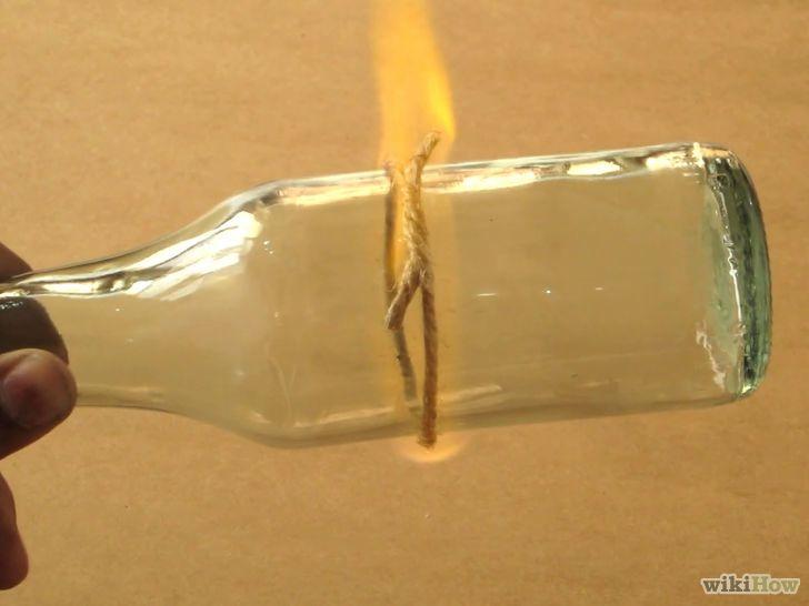 Différente méthode pour couper une bouteille en verre sans outils