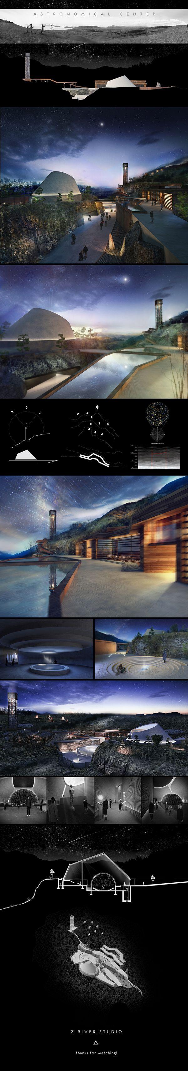 ASTRONOMICAL CENTER by Z.RIVER.STUDIO