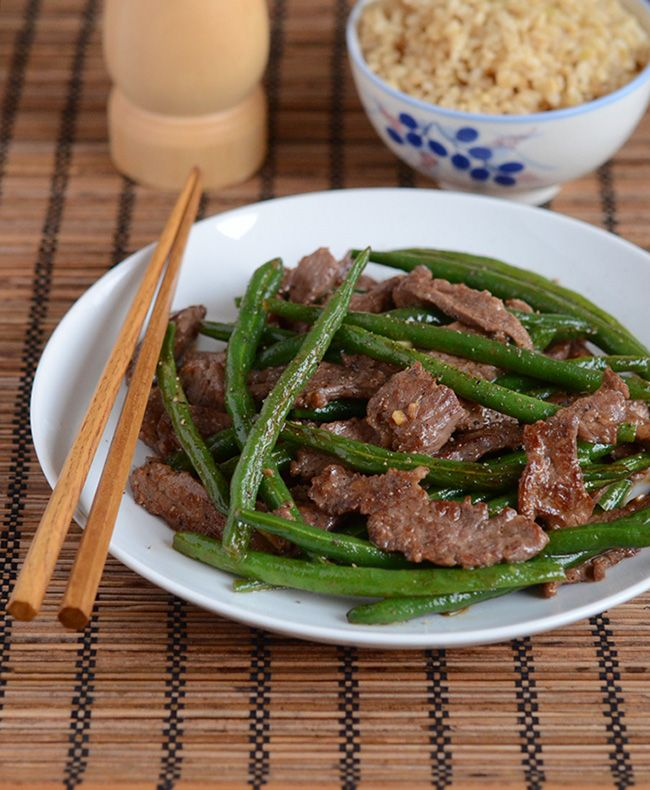 fashion online Vietnamese Beef and Green Bean Stir Fry   Appetite for China