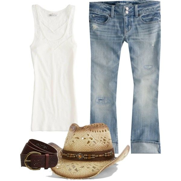 Country concert. Outfit 1