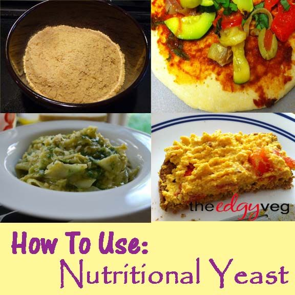 how to cook with nutritional yeast