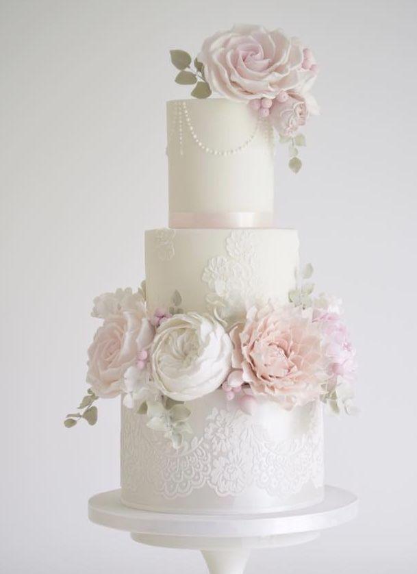 Schöne Hochzeitstorte   – SPECIAL CELEBRATION CAKES.
