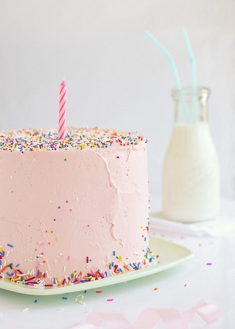 birthday cake #pink