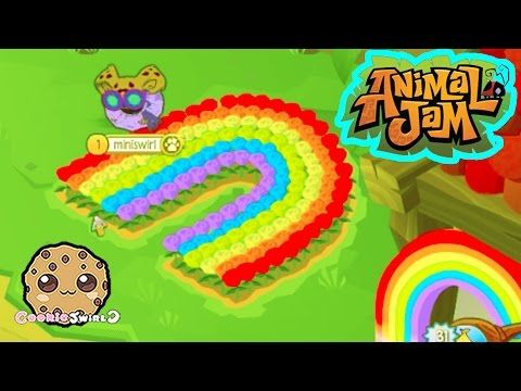 Animal Jam Awesome Dens , Party with Cookie swirl c Fans - Cookieswirlc Video - YouTube